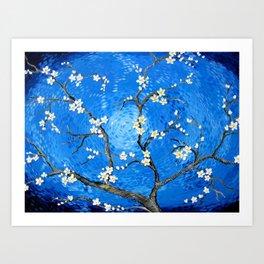 A Salute to Van Gogh Art Print
