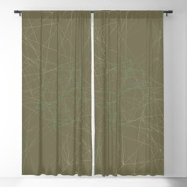 LIGHT LINES ENSEMBLE MARTINI OLIVE-1 Blackout Curtain