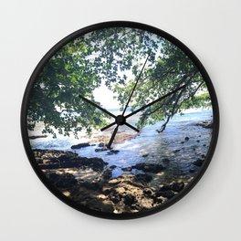 Jungle Beach in Puerto Viejo Wall Clock