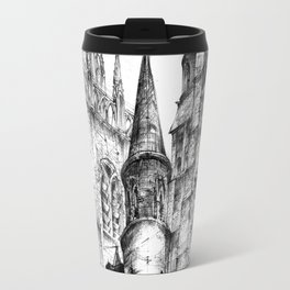 Collegiate Church of St Gertrude, Nivelles Travel Mug