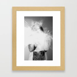 powder  Framed Art Print