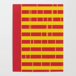 Apartment Block Poster