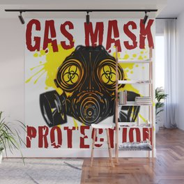 GAS_MASK_PROTECTION Wall Mural