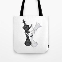 Chess dancers Tote Bag