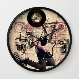 Song in My Head Wall Clock