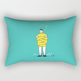 Don't do anything Rectangular Pillow