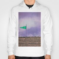 flag Hoodies featuring Flag by Maite Pons