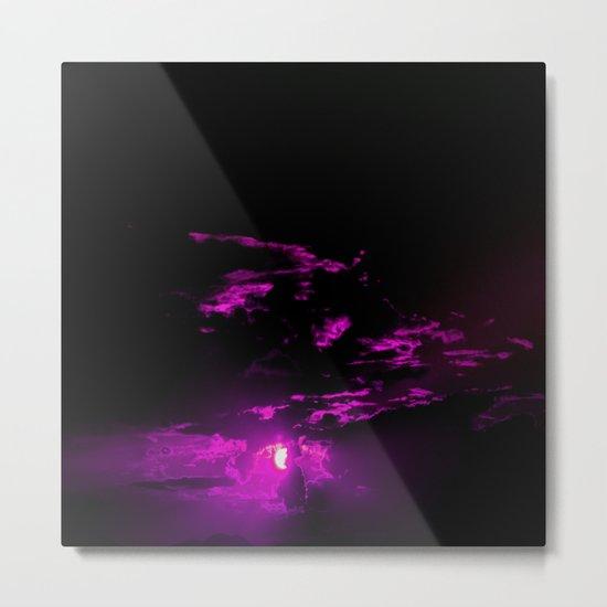 Pinky pink Metal Print