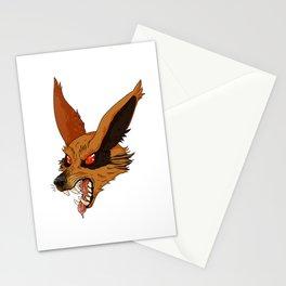 Roaring Kurama Stationery Cards