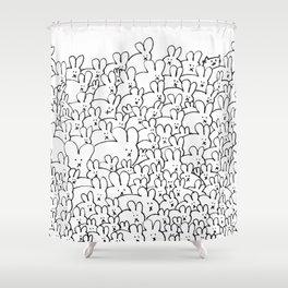 Pile of Buns Part Deux Shower Curtain
