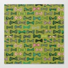 Bow ties Canvas Print