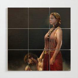 "Calypso(""Charm of of the Ancient Enchantress"" Series) Wood Wall Art"