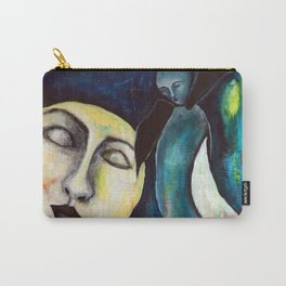 Whale & the Moon Carry-All Pouch