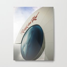 Front entrance of the Rock in Rio Metal Print