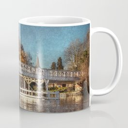 The Toll Bridge At Whitchurch-on-Thames Coffee Mug