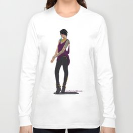 Modern Morrigan Long Sleeve T-shirt