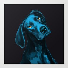 The Dogs: Riley B. Canvas Print
