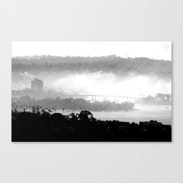 San Diego Fog Canvas Print