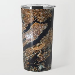 New York City Lights Travel Mug