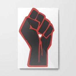 Love is Resistance  Metal Print