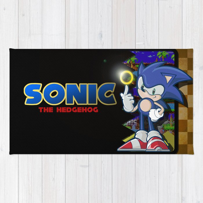 Sonic the hedgehog Rug