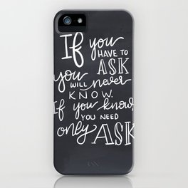 Room of Requirement iPhone Case