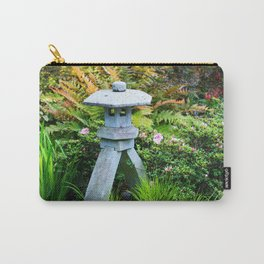 Japanese Stone Lantern Carry-All Pouch