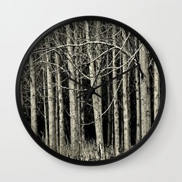 Cottonwoods Wall Clock