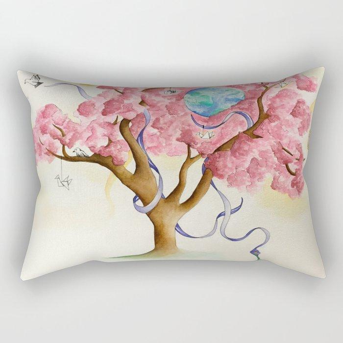 Peace Treety Rectangular Pillow