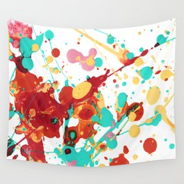 Paint Party 2 Abstract Wall Tapestry