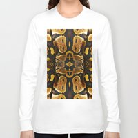 monty python Long Sleeve T-shirts featuring Ball Python by Moody Muse