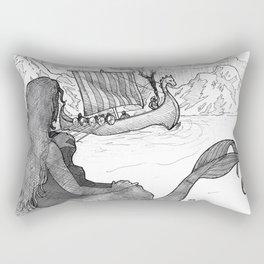 Sirens of Safe Passage Rectangular Pillow
