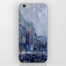 The Downpour iPhone Skin