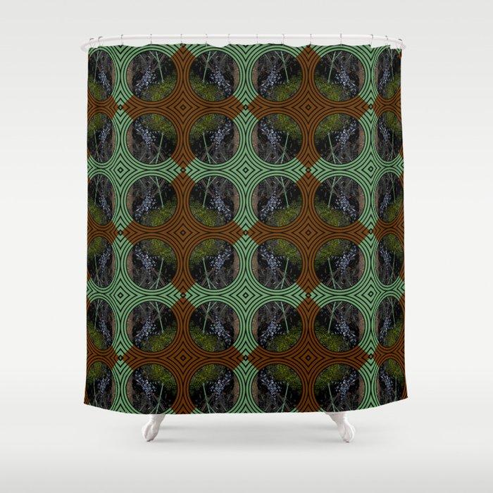 Nature Portals Pattern Shower Curtain