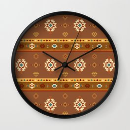 AFE Southwestern 2 Wall Clock