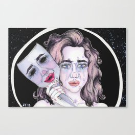 The Two Faces Canvas Print