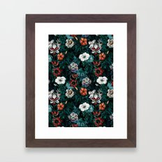 NIGHT FOREST XXI Framed Art Print