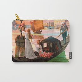 1900 Venice, Italy Travel Advertisement Poster by D'Ales Carry-All Pouch