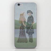 princess bride iPhone & iPod Skins featuring The Princess Bride Poster Art Print Typography by Skahfee Studios