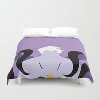 ursula Duvet Covers featuring Ursula by Polvo