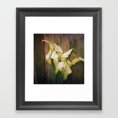 Simplicity is the Ultimate Sophistication Framed Art Print