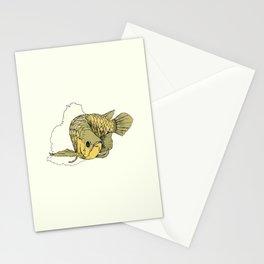 Gold Arowana Stationery Cards