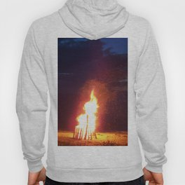 Blazing Beach Bonfire Hoody