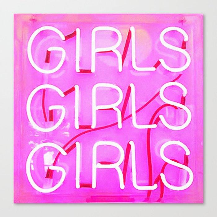 Girls Leinwanddruck