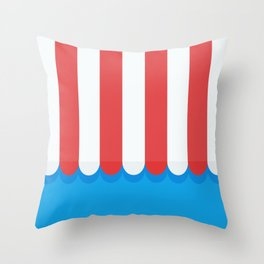 Awning Throw Pillow