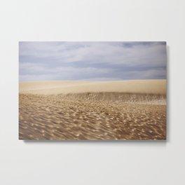 Dramatic Sand Dunes Metal Print