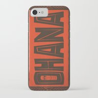 ohana iPhone & iPod Cases featuring Ohana by Big Batty Daddy