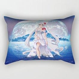 Sailor Moon Crystal Princess Serenity SILVER HAIR Rectangular Pillow