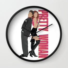 Pretty Woman Wall Clock
