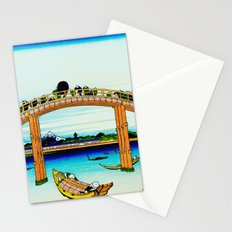 Mannen Bridge and Mount Fuji Stationery Cards